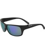 Bolle Viper matt svart blå-violett solglasögon