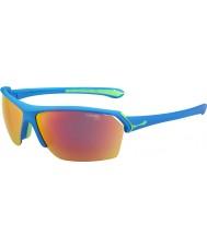 Cebe Vilda blå 1500 grå skikts solglasögon med gula och klara ersättningslinser