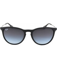 RayBan Rb4171 54 erika gummi svart 622-8g solglasögon