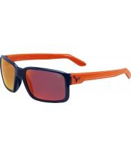Cebe Dude glänsande blå apelsin solglasögon