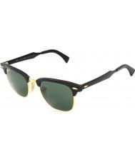 RayBan Rb3507 51 Club aluminium svart arista 136-N5 polariserande solglasögon