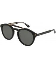 Gucci Mens gg0124s 001 solglasögon