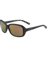 Bolle 12243 molly svarta solglasögon