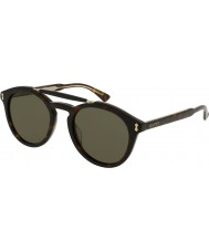 Gucci Mens gg0124s 002 solglasögon