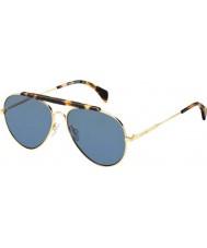 Tommy Hilfiger Th 1454-s 000 72 steg guld solglasögon