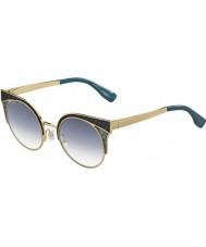 Jimmy Choo Damer Ora-s psx u3 guld militära gröna solglasögon
