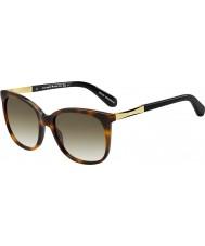 Kate Spade New York Damer Julieanna-s CRX cc Dark Havana guld solglasögon