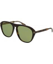 Gucci Mens gg0128s 001 solglasögon