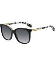 Kate Spade New York Ladies Julieanna-s anw F8 svart guld solglasögon
