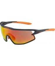 Bolle B-rock matt svart och orange TNS brand solglasögon