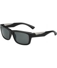 Bolle Jude glänsande svart polarise tns solglasögon