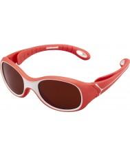 Cebe S-Kimo (ålder 1-3) röda 2000 melanine solglasögon