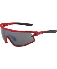 Bolle B-rock matt röd och svart TNS pistol solglasögon