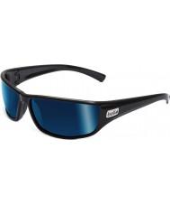 Bolle Python svarta polarise offshore blå solglasögon