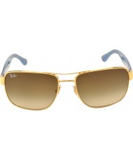 RayBan Rb3530 58 highstreet guld 001-13 gradient solglasögon