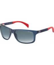 Tommy Hilfiger Th 1257-s 4nk JJ blå röda solglasögon
