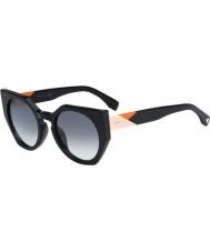 Fendi Fasetter ff 0151-s 807 jj svarta solglasögon