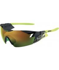 Bolle 6. Avkänning matt rök grön brun smaragd solglasögon